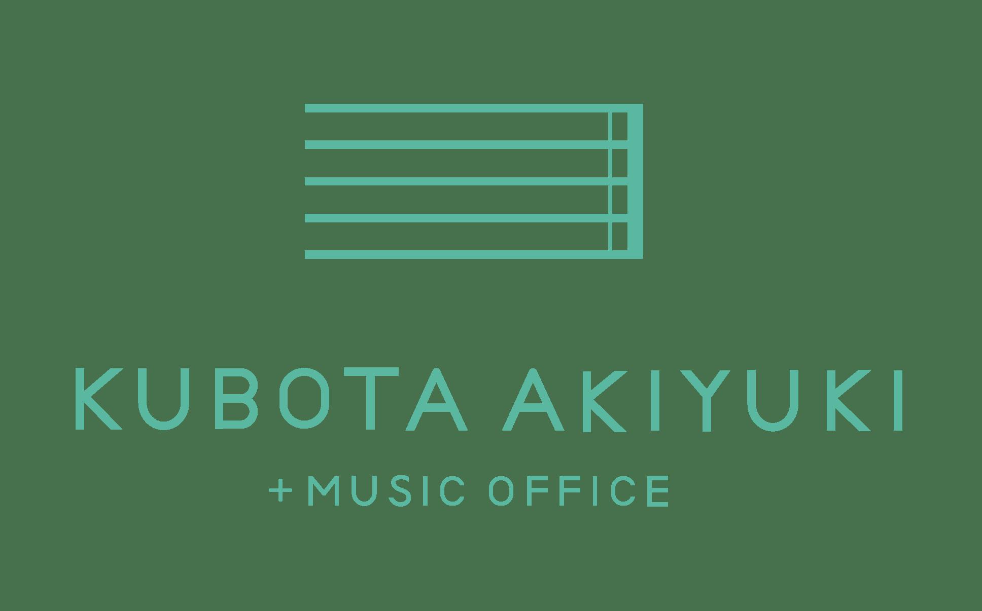 KUBOTAAKIYUKI MUSICOFFICE + BLOG